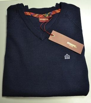 Merc Blue Knitwear Jumper