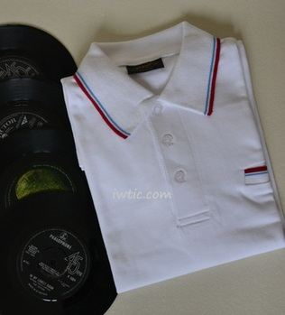 POP White Polo