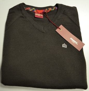 Merc Brown Knitwear Jumper