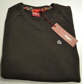 Merc Brown Knitwear Jumper