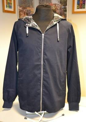 Blue Anorak Jacket