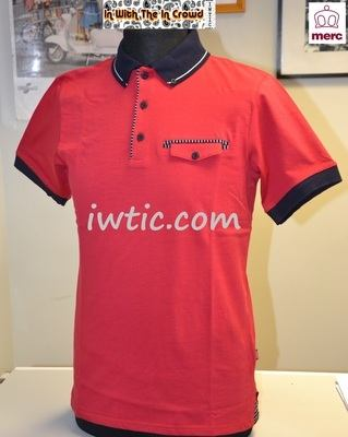 Merc Red Polo Shirt
