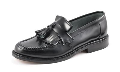 Loake Black Loafer