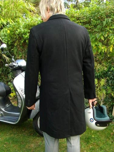 Merc overcoat back