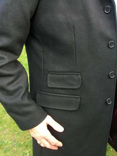 Merc Overcoat pockets