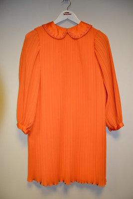 Vintage Orange Dress