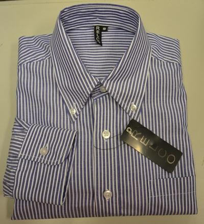 Blue Stripe shirt folded