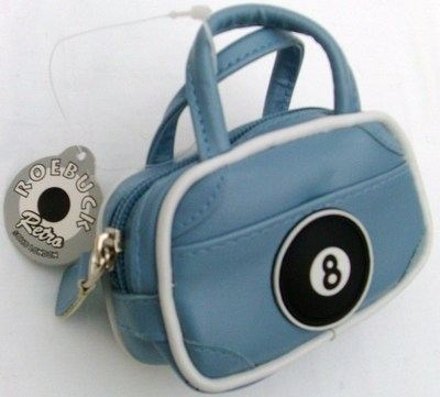 Blue Mini Bowling Bag 8 Ball