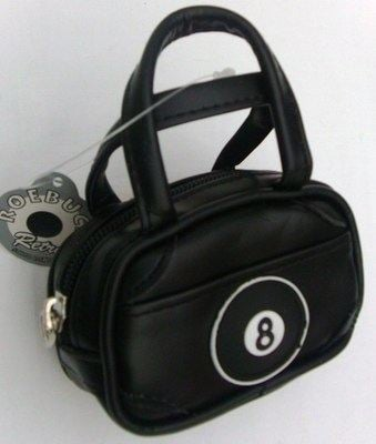 Black Mini Bowling Bag 8 Ball