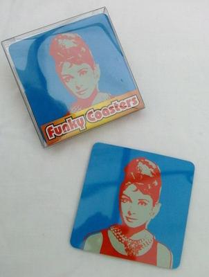Audrey Coasters