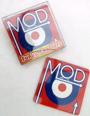 Mod Target Coasters