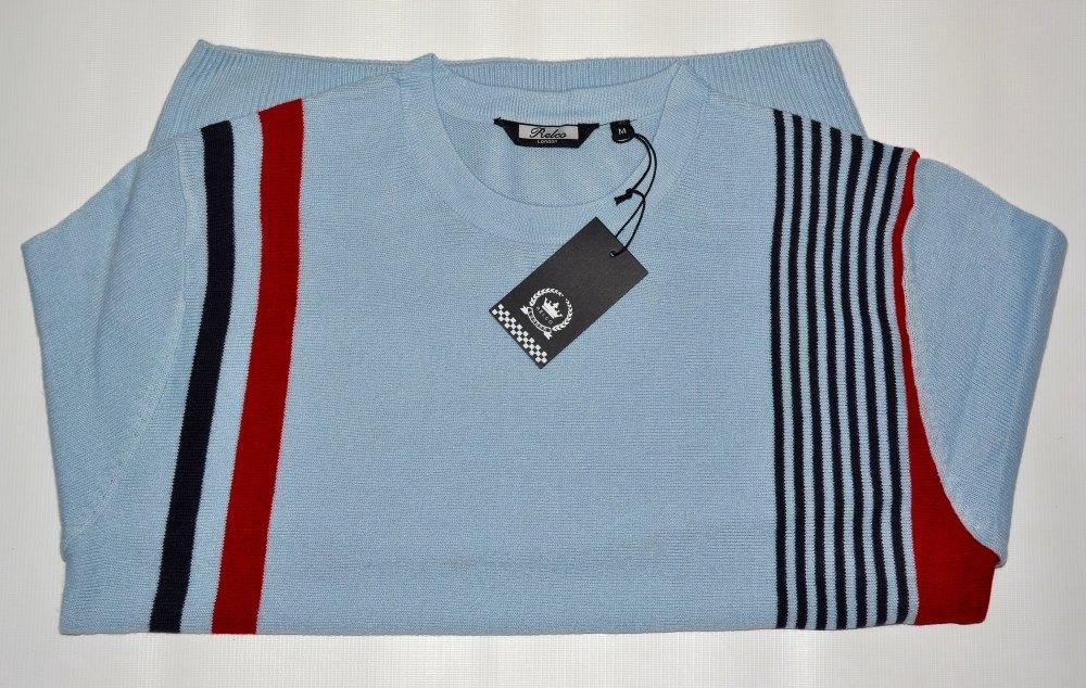 Sky Blue Stripe Jumper