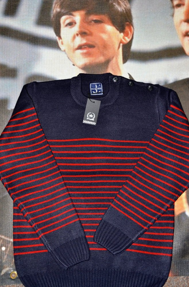 Blue Naval Jumper