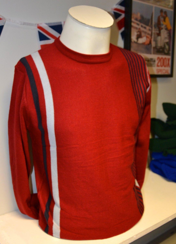 Red Stripe Jumper
