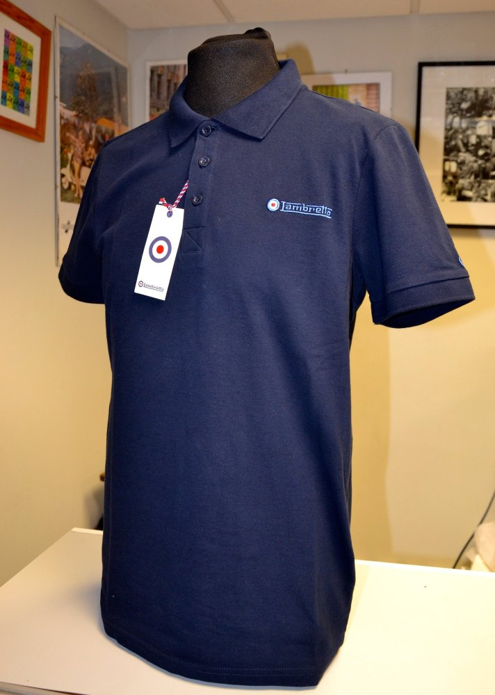 Lambretta Navy Polo Shirt