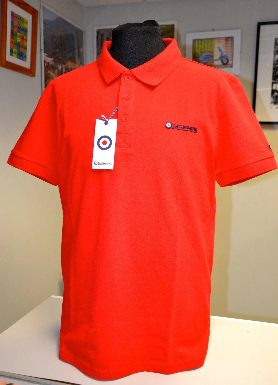 Lambretta Red Polo Shirt