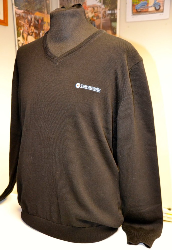 Lambretta Black V Neck