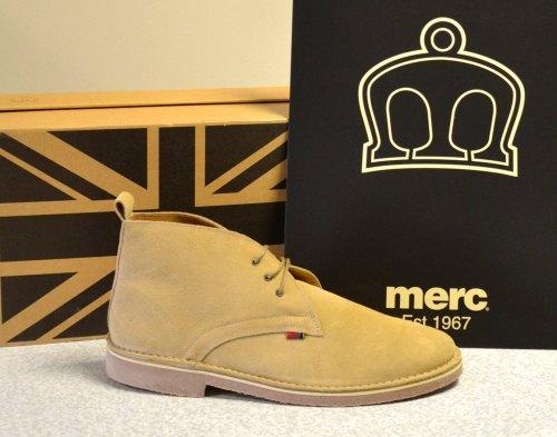 Merc Desert Boots