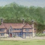 Artist's impression at Lurgashall West Sussex