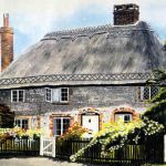 Thatched cottage, Singleton, West Sussex