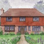 new build at Rusper, Sussex