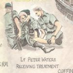 Lt Peter Waters Receiving Treatment