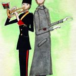 Blues & Royals cartoon