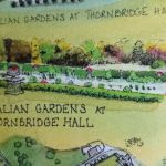 Italian gardens at Thornbridge Hall