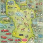 Life Map including car collection