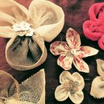 handmade flower brooches