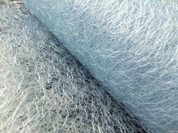 Light Blue Netting Material Per Metre Baby Blue Spider Web Net