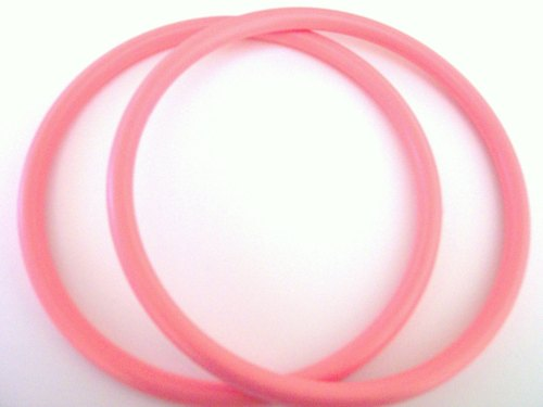 Round Bag Handles for Crafts PINK
