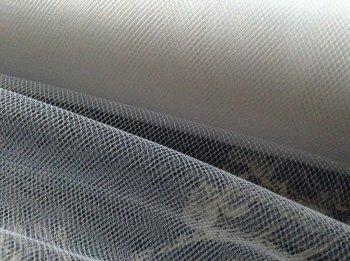 "White Tutu Net 6"" Wide Tulle Material Per Metre"