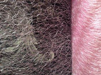 Halloween Spider Web Net Material Light Pink