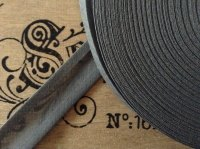 Grey Cotton Bias Binding - 50 Metre Reel