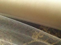 Ivory Tutu Net Tulle Structured Wedding Material Sold Per Metre