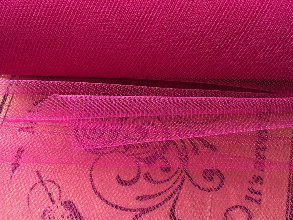 Fuschia Pink Tulle 6 Inch Wide Tutu Net Per Metre