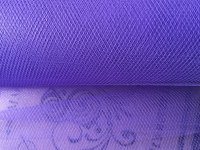 Purple Tulle Fabric Sold Per Metre Length
