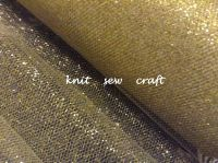 Gold Tulle Net Metallic Tutu Material Sold By The Metre Length