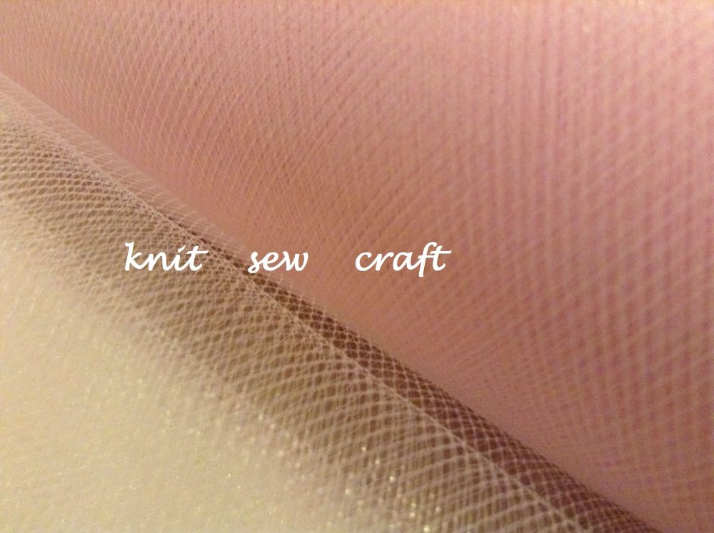 Light Pink Tutu Net Tulle Material Sold Per Metre