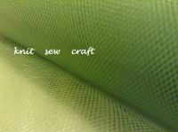 Lime Green Tulle Net 15cm Netting Craft Material Per Metre