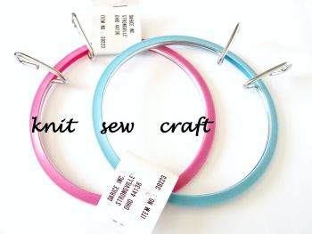 "Darice 3.5"" Spring Tension Embroidery Hoop"