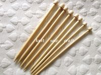 Darice Bamboo Knitting Needles Set 7mm, 9mm, 10mm, 12mm