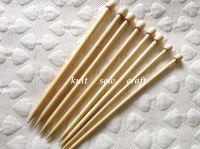 Darice Bamboo Knitting Needles Set 7mm, 9mm, 10mm, 12mm