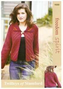 Twilleys Freedom Spirit Wool Pattern 9080 Diagonal Jacket
