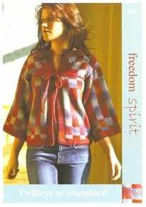 Twilleys Freedom Spirit Pattern 9082 Knitted Kimono Jacket