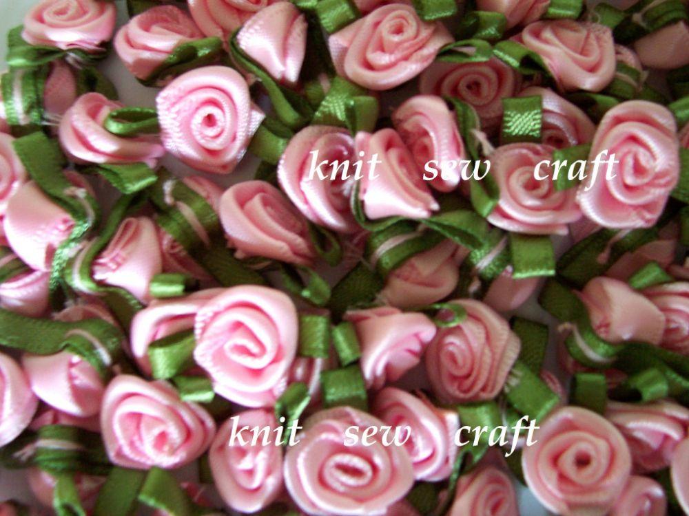 Satin Rosebuds