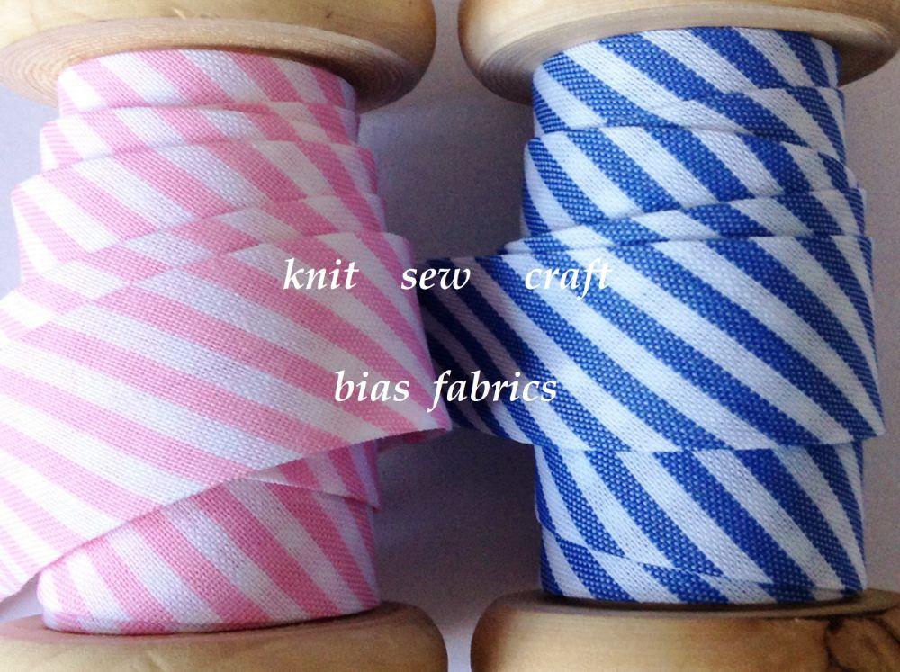 Striped Bias Binding