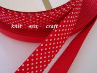 reels of bias binding tape