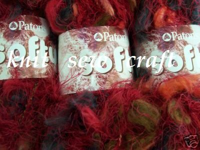 Patons Softy Chunky Knitting Wool - Ember Red